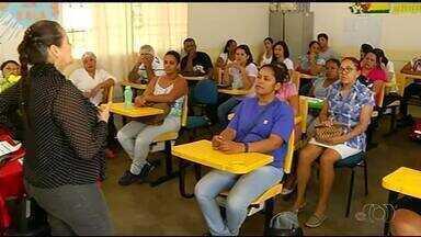Merendeiros recebem treinamento antes da volta às aulas em Gurupi - Merendeiros recebem treinamento antes da volta às aulas em Gurupi