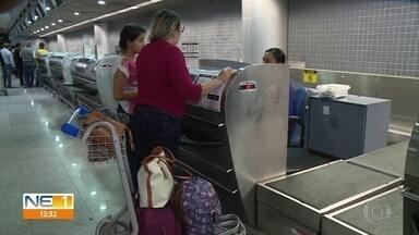 Fiscalização interditou três balanças usadas por companhias aéreas no Recife - Diretora do Ipem-PE iformou que 53 balanças foram fiscalizadas no aeroporto da cidade.