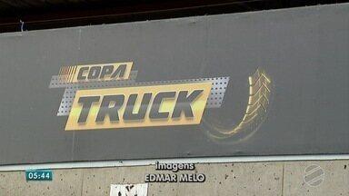 Esporte: fim de semana de velocidade e adrenalina em Campo Grande - A capital de Mato Grosso do Sul vai receber etapa da Copa Truck neste fim de semana.