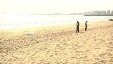 Homem morre afogado em praia de Fortaleza - Confira mais notícias em g1.globo.com/ce