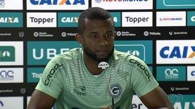 Gilberto minimiza derrota e crê que Goiás vai voltar a embalar - Volante aposta em bom resultado contra o Oeste, neste sábado