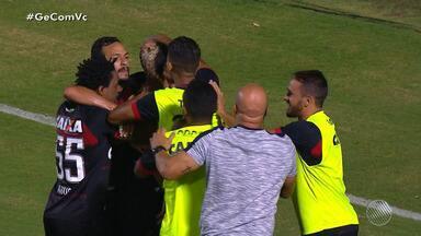 Vitória vence o Sport e sai da zona de rebaixamento do Campeonato Brasileiro - O técnico Mancini fez mudanças no elenco rubro-negro.