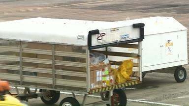 Importações e Exportações crescem significativamente no Aeroporto de Foz - O balanço foi divulgado esta semana pelo Aeroporto de Foz.