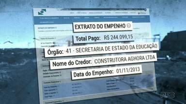 MP investiga reforma em Colégio Estadual - O inquérito está ligado a Operação Quadro Negro.
