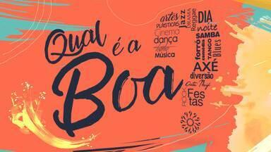 Saiba quais as atrações culturais em João Pessoa nesse fim de semana - Veja no Qual é a Boa.