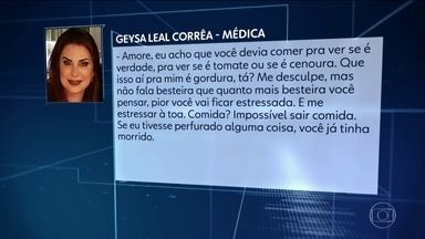 Médica zomba de paciente que teve complicação grave após lipoescultura - Surgem mais casos de problemas após procedimentos estéticos. Polícia do Rio ouviu mais uma testemunha no caso do Dr. Bumbum.
