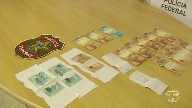 Polícia Federal investiga distribuição de cédulas falsas em Santarém - Esta semana, dois homens foram presos com notas de R$ 50 e R$ 100 falsificadas.