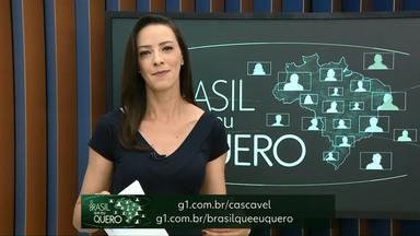 Que Brasil você quer para o futuro? - Moradores de Diamante do Sul, Maripá e Entre rios do Oeste ainda não participaram da campanha.