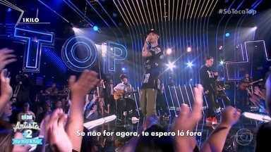 '1 Kilo' canta 'Deixe-me ir' - Grupo canta sucesso