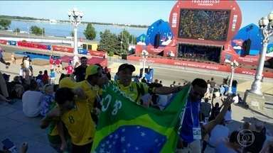 Volta ao Mundo de Skate: Brasileiro acompanha a Copa do Mundo direto da Rússia - Volta ao Mundo de Skate: Brasileiro acompanha a Copa do Mundo direto da Rússia
