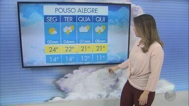 Confira a previsão do tempo para esta segunda-feira (30) no Sul de Minas - Confira a previsão do tempo para esta segunda-feira (30) no Sul de Minas