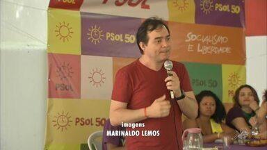 PSOL lança Ailton Lopes a candidatura do governo do estado - Saiba mais em g1.com.br/ce