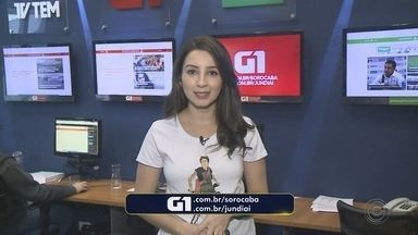 Mayara Corrêa traz os destaques do G1 Sorocaba e Jundiaí nesta segunda-feira - A repórter Mayara Corrêa traz os destaques do G1 Sorocaba e Jundiaí nesta segunda-feira (30).