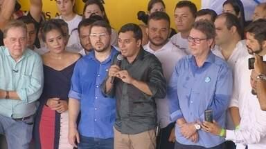 PSC confirma Wilson Lima para disputa do governo do AM - Jornalista terá como vice o defensor público Carlos Alberto Almeida.