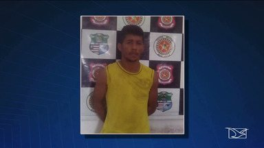 Preso suspeito de matar criança de nove meses a facadas em Governador Edison Lobão. - Francielson Gomes Pereira, de 18 anos, teria sido visto pela mãe da criança com uma faca logo após o crime.