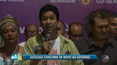 PSOL confirma Marcos Mendes como candidato ao governo do estado - Convenção de lançamento da candidatura do geólogo aconteceu no domingo (29).