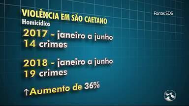 Violência em São Caetano assusta moradores - Homicídios e assaltos têm sido constantes na cidade.