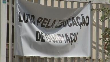 Professores da rede municipal de Guapiaçu entram em greve - Começou nesta segunda-feira (30) uma greve dos professores da rede municipal de ensino de Guapiaçu (SP).