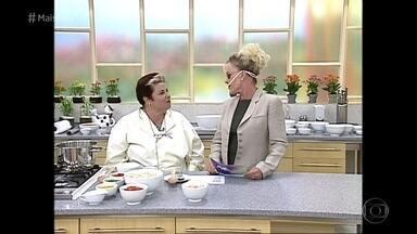 Ana Maria relembra receita que inspirou o baiano Ranieri - Receita de colomba pascal salgada foi exibida em abril de 2000