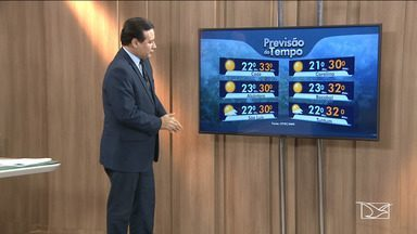 Veja as variações das temperaturas no Maranhão - Segundo a meteorologia a quarta-feira (1º) será de sol em grande parte do estado.
