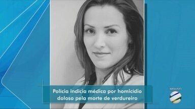 Polícia Civil indicia médica por atropelamento de verdureiro - Polícia Civil indicia médica por atropelamento de verdureiro.