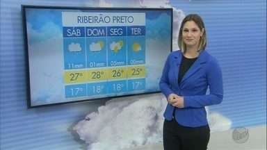 Veja como fica a previsão do tempo para o fim de semana em Ribeirão Preto, SP - Temperaturas devem continuar baixas e há previsão de chuva na região.