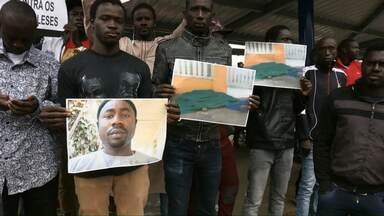 Caminhada pede paz e justiça em Cascavel - A mobilização foi organizada pela comunidade senegalesa e muçulmana da região.