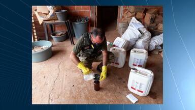 Mirante Rural destaca fiscalização de combate a venda de agrotóxicos contrabandeados no MA - Programa que foi ao ar neste domingo (5) mostrou a operação que está sendo realizada pela Agência Estadual de Defesa Agropecuária do Maranhão (Aged) para combater a venda de agrotóxicos contrabandeados no sul e sudoeste do Maranhão.