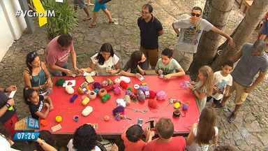 Projeto 'O MAM abraça as crianças' acontece em Salvador - A próxima edição do projeto será realizada no dia 19 de agosto.