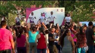 Clube da Ginástica reúne milhares de pessoas Parque Lagoas do Norte - Clube da Ginástica reúne milhares de pessoas Parque Lagoas do Norte