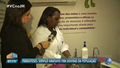 Parasitoses: serviço gratuito tira dúvidas da população em Salvador - Dicas simples de higiene podem evitar doenças perigosas que são causadas pelos parasitas; confira.