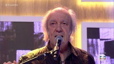 Erasmo Carlos canta 'Convite para Nascer de Novo' - Cantor mostra sua face mais reflexiva