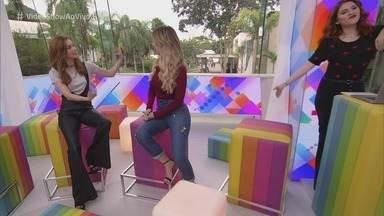 Vídeo Show - Programa de Quarta-feira, 08/08/2018, na íntegra - O programa mostra os bastidores da televisão brasileira.