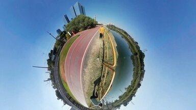 Um olhar em volta do rio que passa na sua cidade - Reportagem gravada em 360°no Rio Pinheiros mostra o potencial que tem em volta dele.