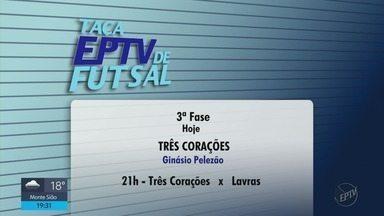 Confira os jogos desta quinta-feira na Taça EPTV de Futsal Sul de Minas - Confira os jogos desta quinta-feira na Taça EPTV de Futsal Sul de Minas