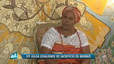 STF analisa proibição do sacrifício de animais em rituais de religiões de matriz africana - O julgamento começou nesta quinta-feira (9), mas foi suspenso. A Bahia é o estado brasileiro com maior número de adeptos dessas religiões.