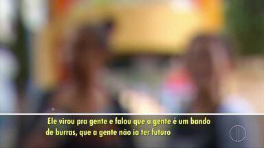Estudantes denunciam comportamento de professor em Conceição de Macabu, no RJ - Assista a seguir.