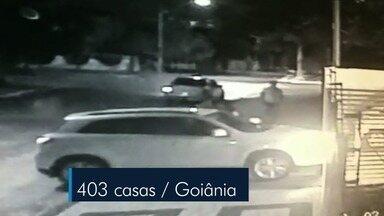 Polícia registra mais de 400 assaltos a residência em Goiânia no primeiro semestre - Moradores contam o que têm feito para tentar impedir a entrada de bandidos nas casas.