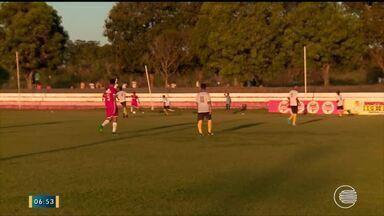 Equipe do River se prepara para a Copa do Nordeste sub-20 - Equipe do River se prepara para a Copa do Nordeste sub-20