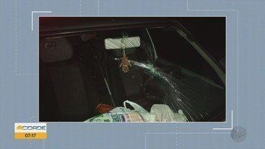 Acidente deixa motociclista ferido em Itajubá, MG - Acidente deixa motociclista ferido em Itajubá, MG