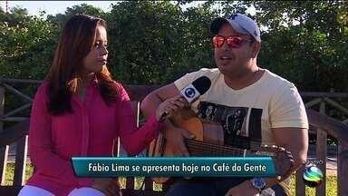 Fábio Lima faz apresentação em Aracaju nesta sexta-feira - A repórter Denise Gomes tem mais informações.