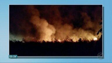 Incêndios em áreas urbanas são preocupantes - Incêndios em áreas urbanas são preocupantes
