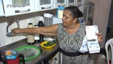 Dificuldade na capital: veja como é a rotina dos moradores que não têm água em casa - A reportagem circulou por Salvador e traçou o panorama da falta de água na capital.