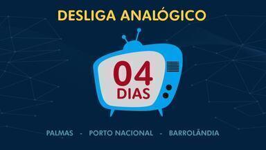 Faltam quatro dias para o desligamento do sinal analógico - Faltam quatro dias para o desligamento do sinal analógico