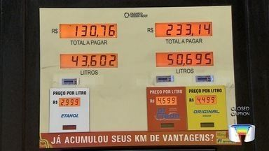Preço do etanol em São José dos Campos está caindo - Quem pesquisa antes de abastecer consegue economizar.
