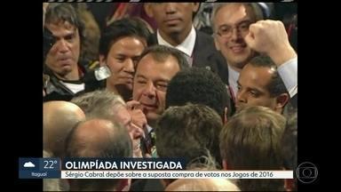 Sérgio Cabral presta depoimento na investigação sobre a compra de votos da Olimpíada - O ex-governador acusou o MPF de racismo durante a investigação