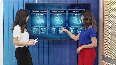 Sexta-feira vai ser de sol entre nuvens no Sul do Rio - Previsão também alerta para ventos gelados na região.