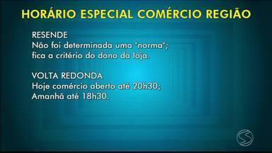 Comércio funciona em horário diferenciado no Dia dos Pais no Sul do Rio - Lojistas esperam, com a medida, incentivar ainda mais o consumo para a data.