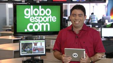 Confira os destaques do GloboEsporte.com - GloboEsporte.com mostra a preparação do Sampaio para encarar o Coritiba e a chegada do técnico Ruy Scarpino ao Moto