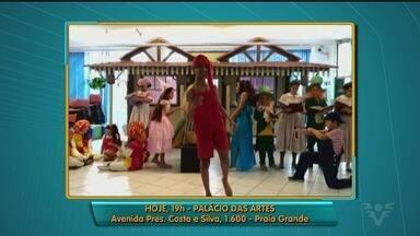 Praia Grande realiza teatro beneficente nesta sexta-feira - Atores do espetáculo fazem convite para o público.